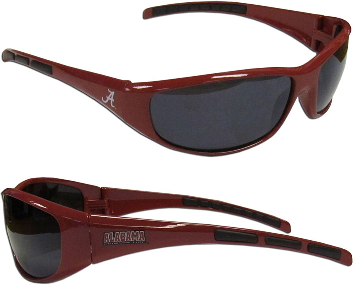 Purchadise NCAA 3-Dot Wrap Sunglasses-UVA and UVB Protection-Many Teams!