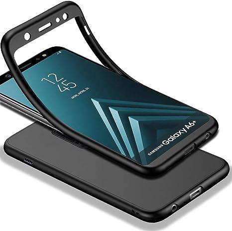 HICASER Samsung Galaxy A6 Plus Funda 360 Grados Cuerpo Completo ...