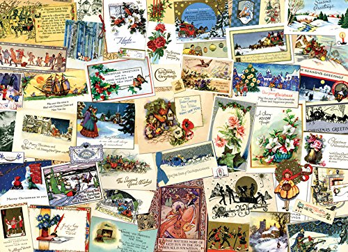 Cobble Hill Victorian Greeting Cards 1000 Piece Jigsaw Puzzle