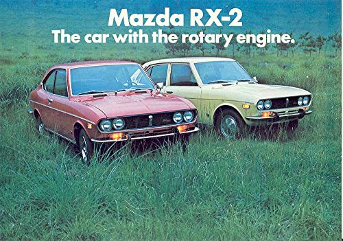 Amazon Com 1972 Mazda Rx2 Sales Brochure Rotary Engine