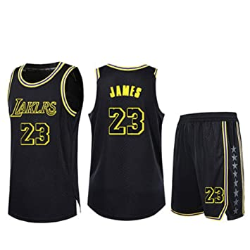 super popular 0a0b0 65603 SDMH Mens Basketball Jersey Los Angeles Lakers #23 LeBron ...