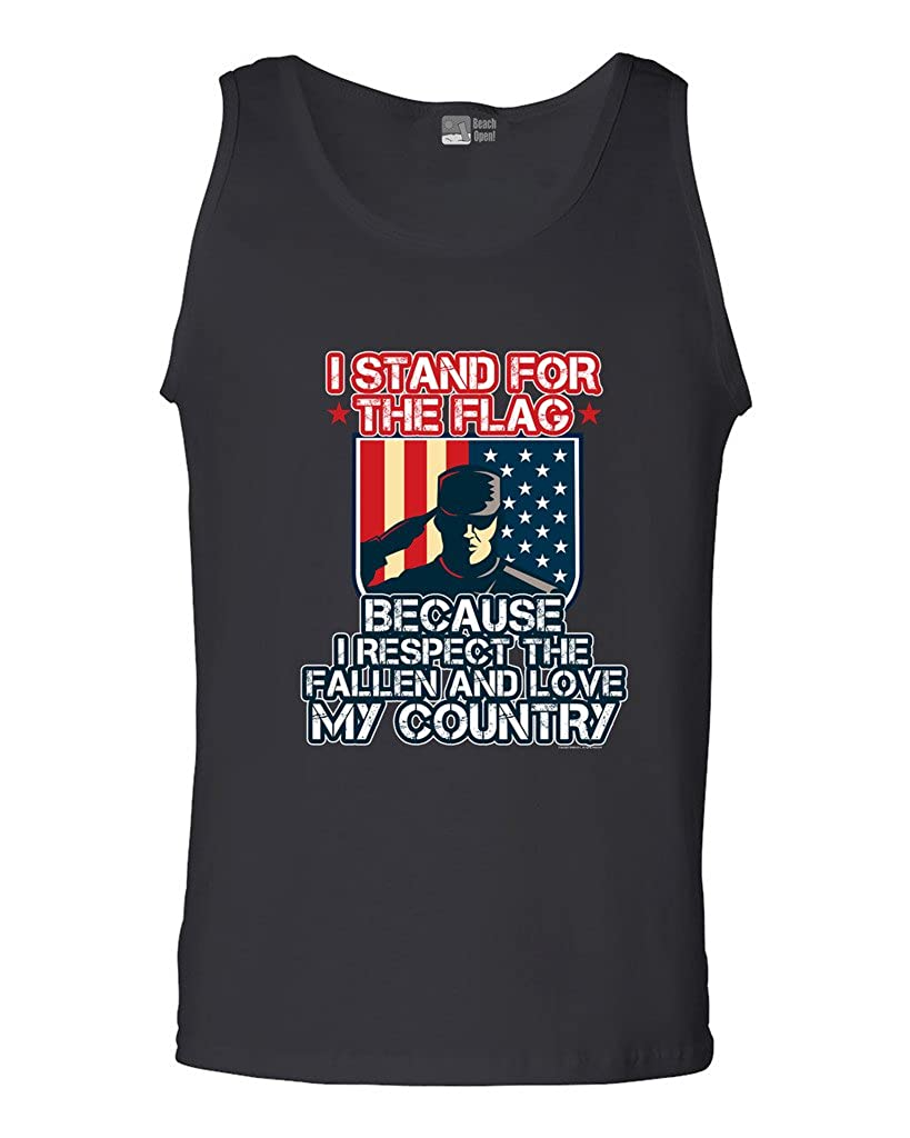 Stand For The Flag Respect The Fallen Love My Country D Dt Adult Shirts