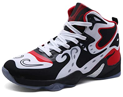 56acc77531ae2 Amazon.com | COSDN Men's Cool High-Top Basketball Shoes Outdoor ...