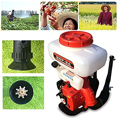 GDAE10 Agricultural Mist Duster Sprayer,43CC Gasoline Powered Knapsack Blower Machine Powered Knapsack 3WF-3A Mosquito Cold Fogger Backpack Sprayer (US Stock) from GDAE10