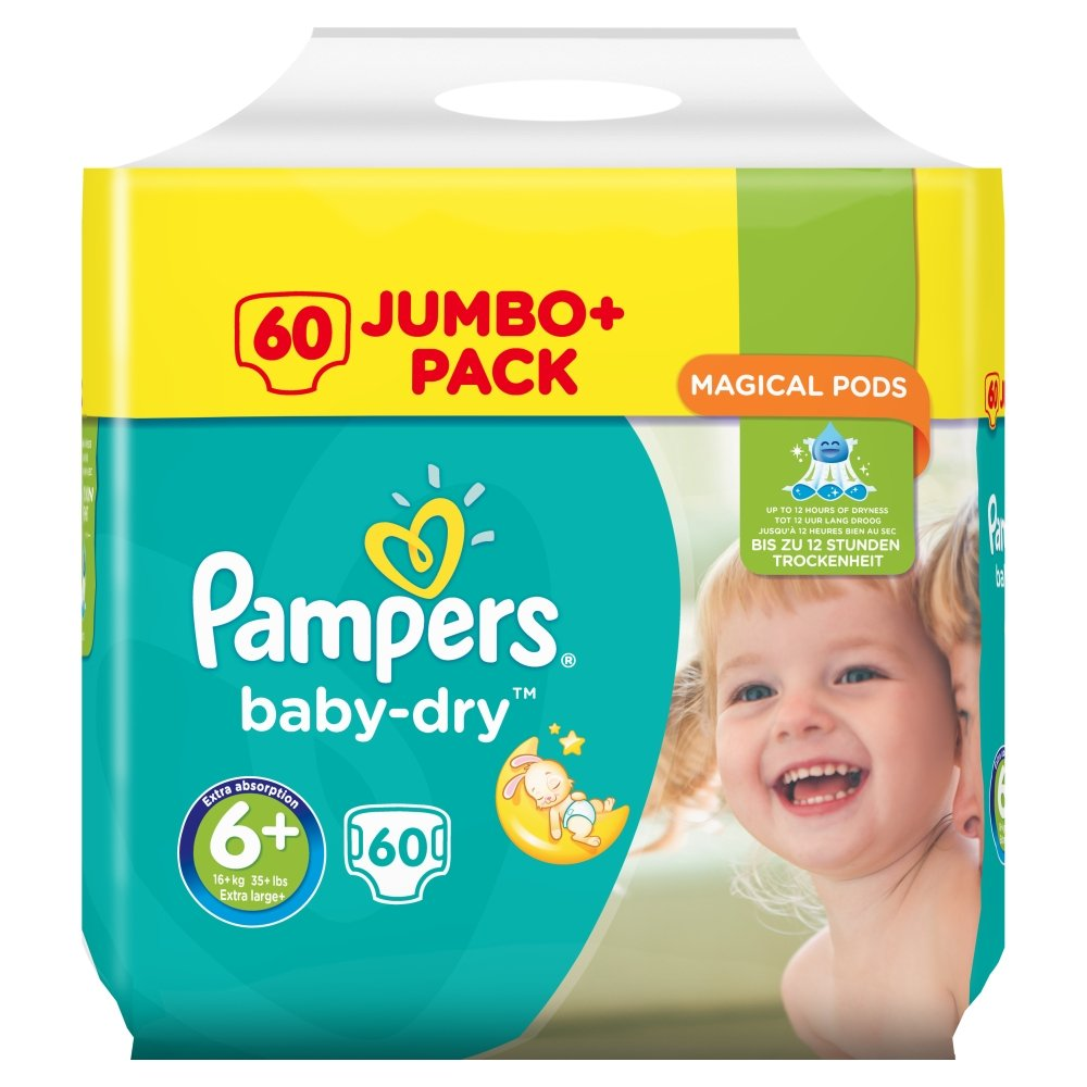Pampers Baby Dry Disposable Nappies PRXKD null