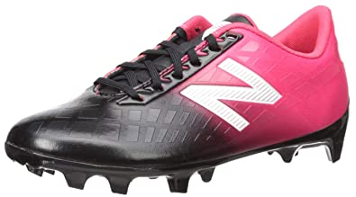 ab657f8d11bc New Balance Boys' Furon V4 Soccer Shoe, Bright Cherry/Black/White,