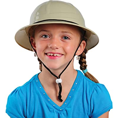 Children's Hard Plastic Safari Pith Helmet: Toys & Games