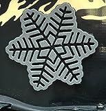Toejamr Stomp Pad - Snowflake - Gray