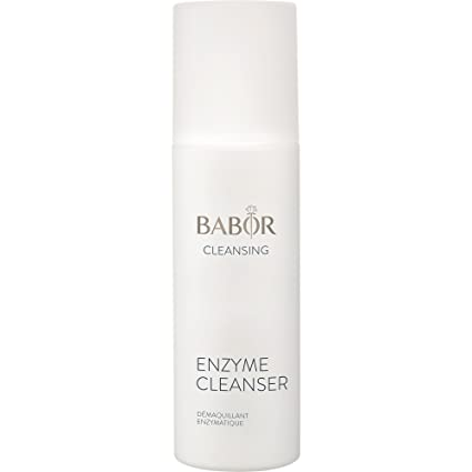 Babor Cleansing Enzyme Cleanser, Enzyme-Based Cleansing and Exfoliating Powder, with Vitamin C, 1 x 75 g Single 75 G: Amazon.de: Premium Beauty