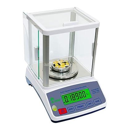 HRB-1002 -- 1000 g x 0,01 g balanza de precisión alta resolución