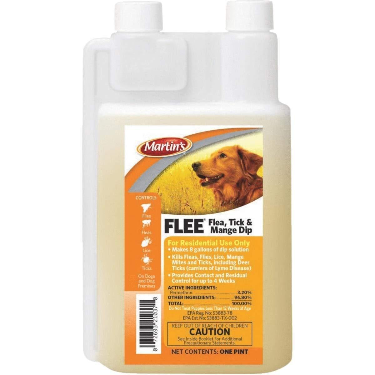 Martin's Mange, Flea & Tick Treatment Dip - 82021037 Pack of 2 by NA