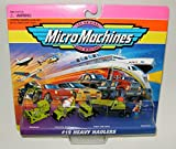 micro machines hot wheels - Micro Machines Heavy Haulers #12 Collection