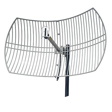 Amazon com: LS 2 4GHz Antenna High Gain 24dBi WiFi Outdoor