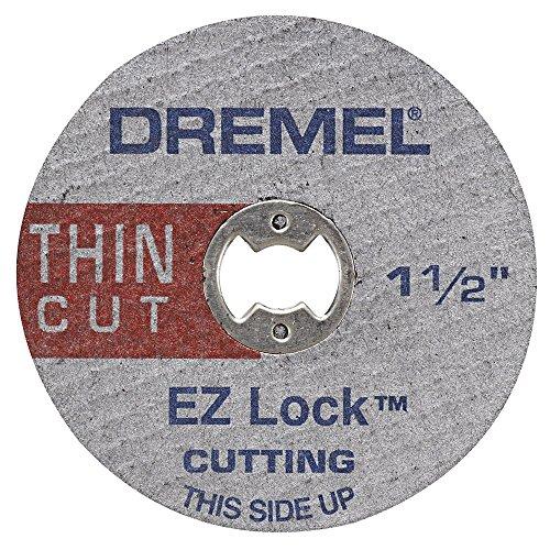 Dremel EZ409 1-1/2-Inch EZ Lock Thin (Metal Thin Cutting Wheel)