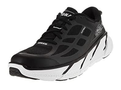 New trend Hoka One One Men's M Clifton 2 Running Shoe Black/Anthracite 1008328 BANT