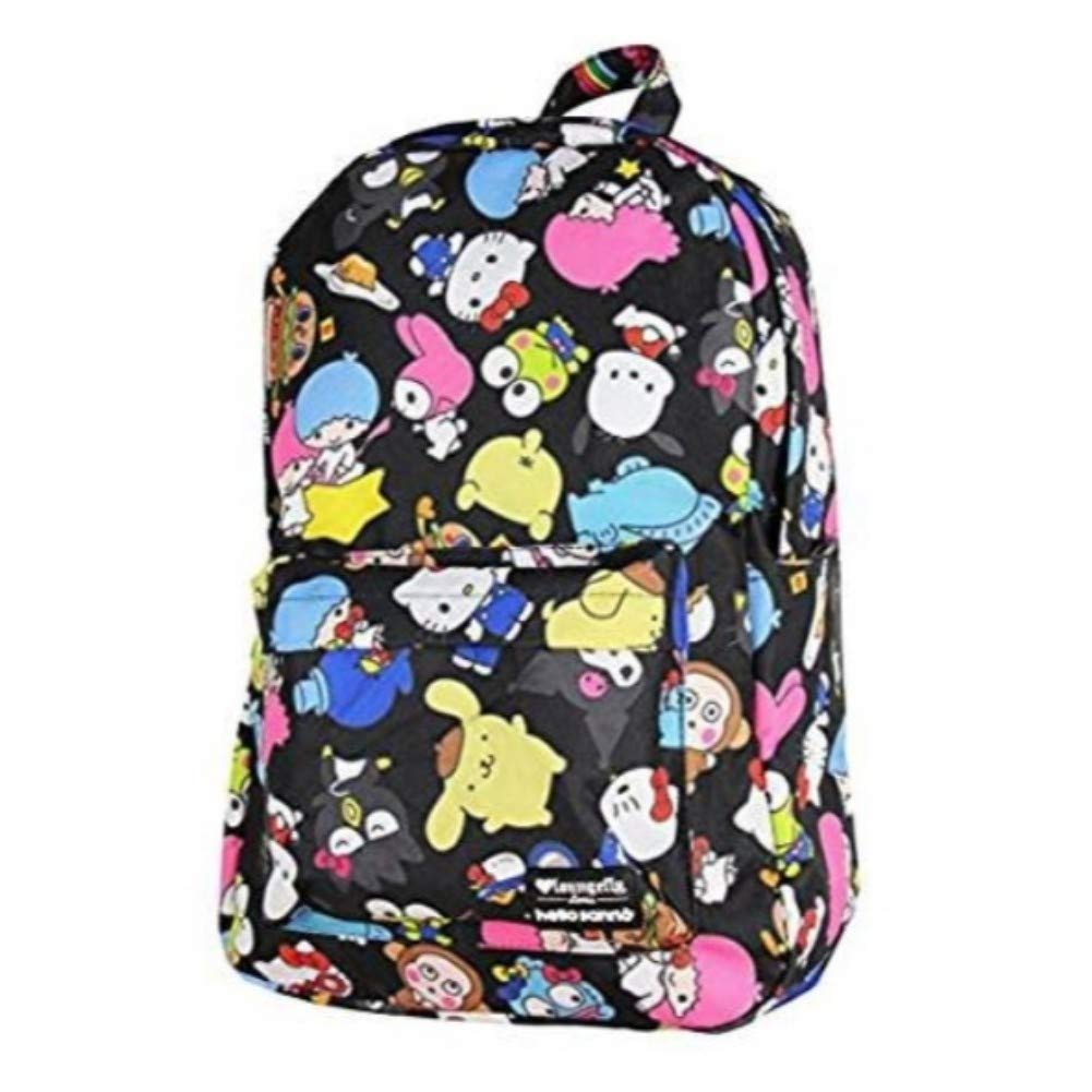 0dc383777 Amazon.com | Loungefly X Hello Kitty Friends Backpack Multi | Kids'  Backpacks