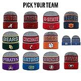 NCAA Cuffed Knit Below Zero II Beanie Hat Top of The World