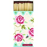 Extra long matches Emma Bridgewater Rose and Bee floral