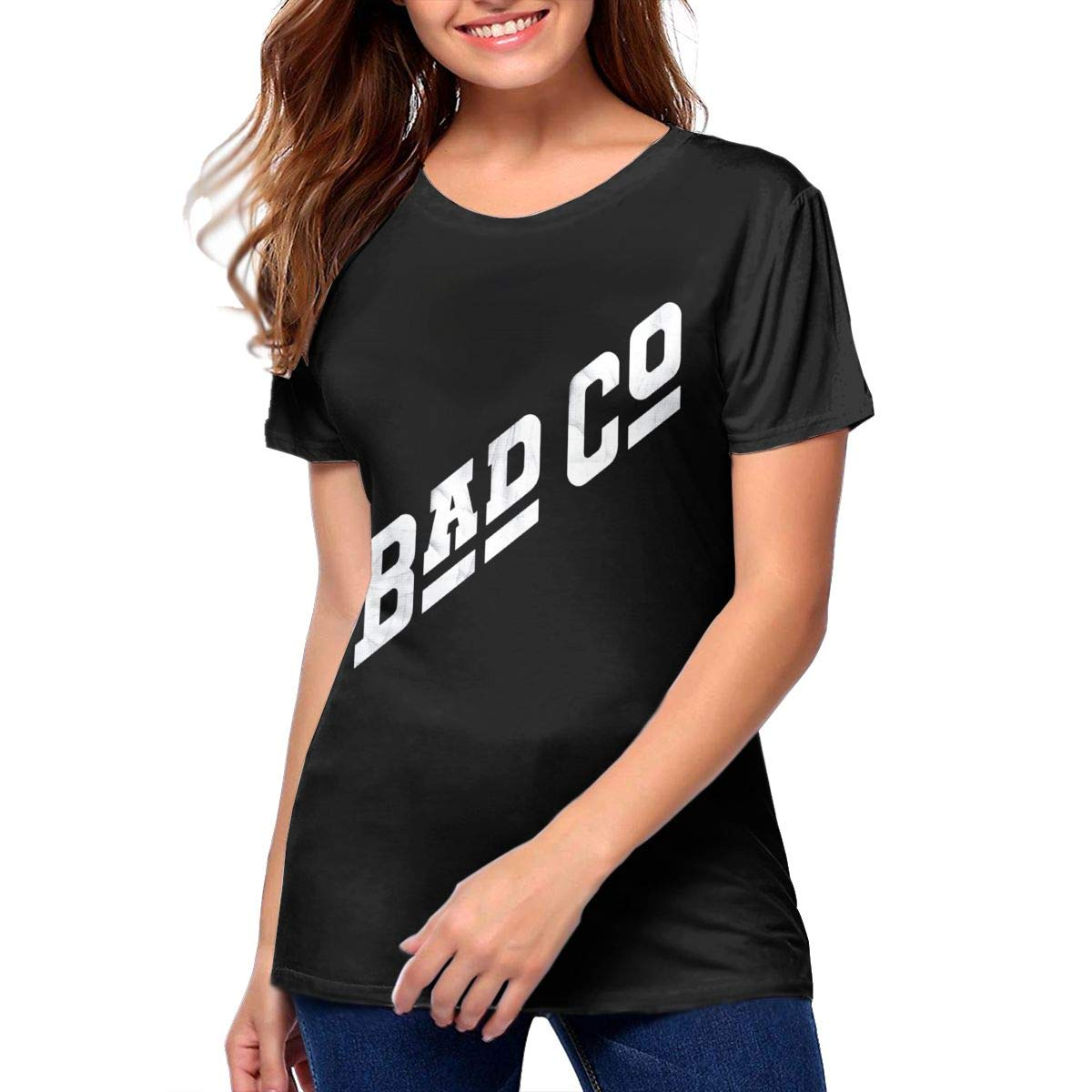Collette K Maddox Bad Company Bad Company Band Music Theme Fashion Short Sleeve T Shirt 65