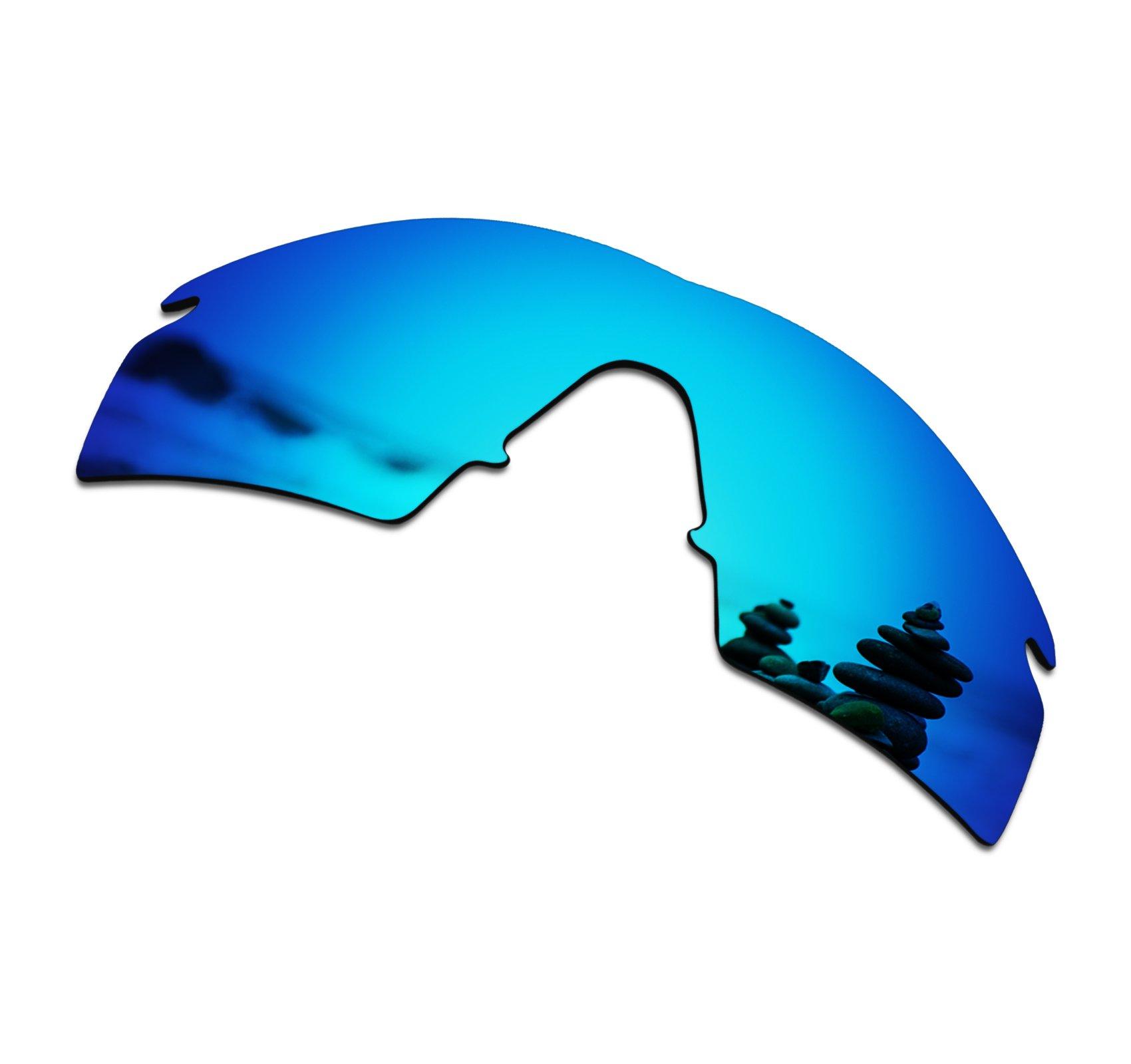 SmartVLT Men's Ice Blue Replacement Lenses for Oakley M Frame Strike Sunglass
