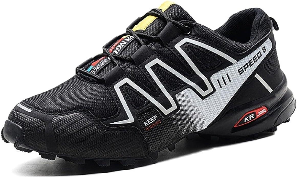 Zapatillas De Trail Running para Hombre Sports Fitness Sneakers Comfortable Low Rise Lighten Zapatillas para Correr Nocturnas Transpirables: Amazon.es: Zapatos y complementos