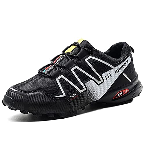 Zapatillas De Trail Running para Hombre Sports Fitness Sneakers Comfortable Low Rise Lighten Zapatillas para Correr Nocturnas Transpirables: Amazon.es: ...