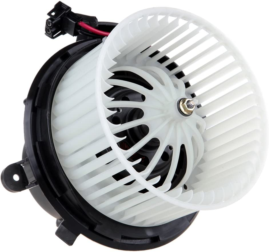 HVAC Plastic Heater Blower Motor ABS w//Fan Cage ECCPP Front for 2011 Mercedes-Benz C180 //2010-2011 Mercedes-Benz C200 //2008-2009 Mercedes-Benz C230 //2010-2011 Mercedes-Benz C250