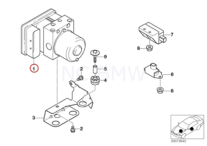 Amazon Com Genuine Bmw Repair Kit For Dsc Control Unit 34516756293