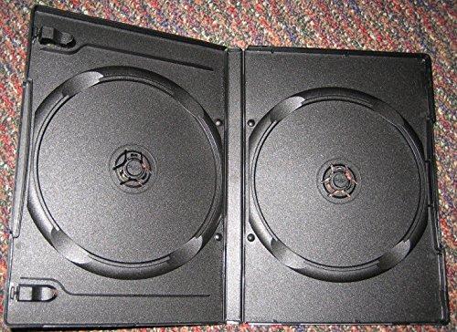 52PCS 27mm DOUBLE Multi 2 DVD Cases, BLACK, DB27-2B-FC-N by LDB
