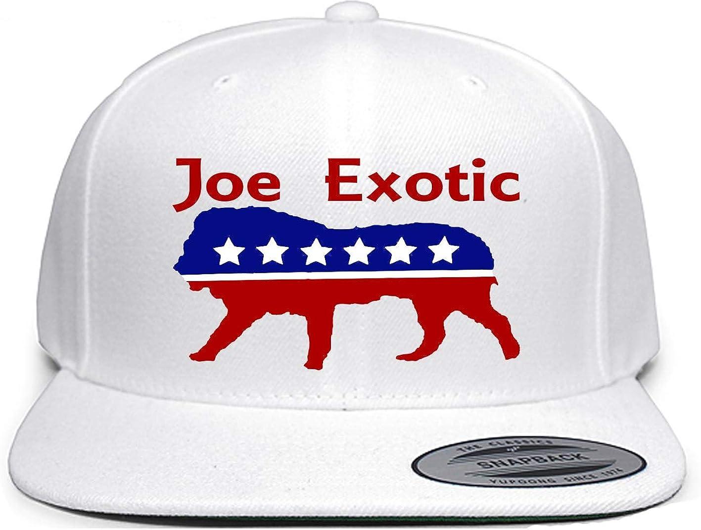 White Snapback Joe Exotic President 2020 Hat Amazon Co Uk Clothing