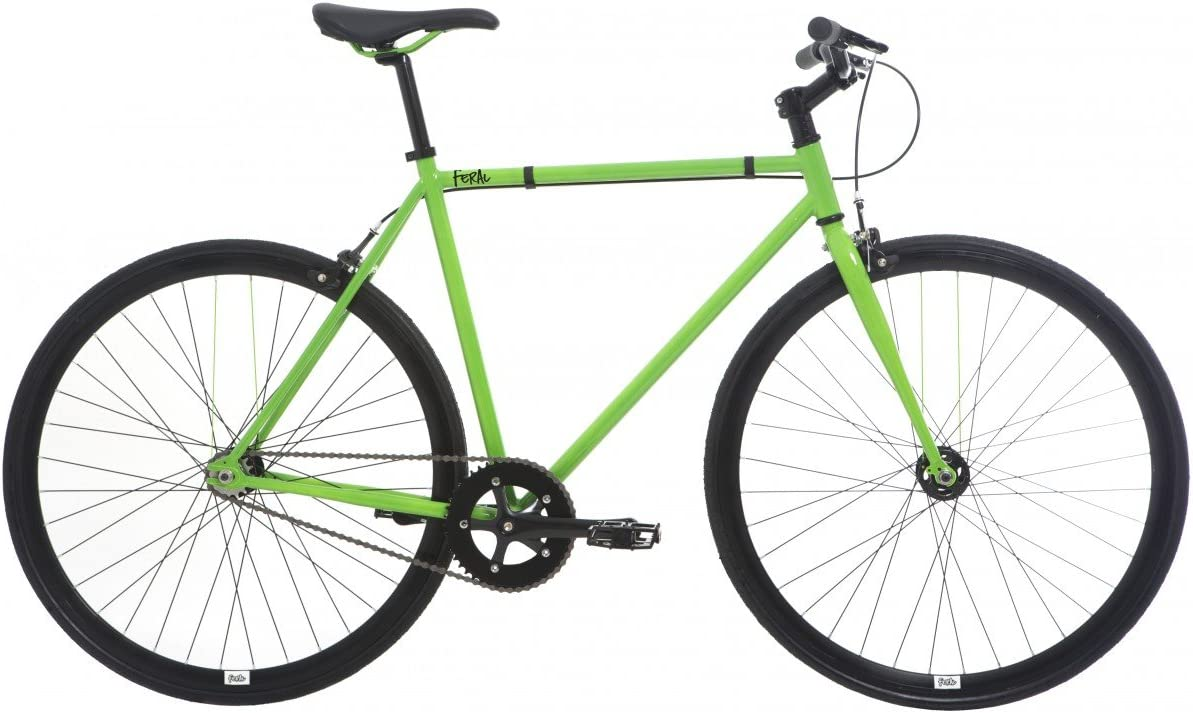 Feral Fixie - Bicicleta para Hombre, 55 cm, Color Negro: Amazon.es ...