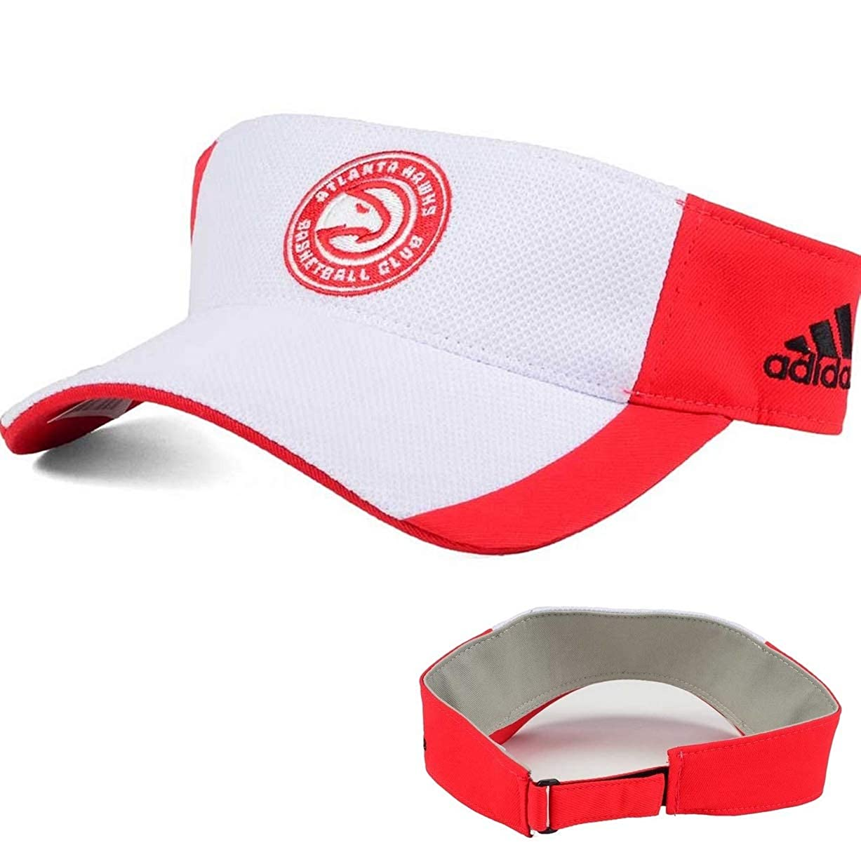 Atlanta Hawks Train Me Visor White