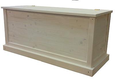 Total Wood 2012 Coffre Banc De Rangement En Bois Enterieur Exterieur Jardin 100x40x45 Cm également Disponible Sur Mesure