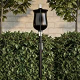 "Pure Garden 50-218 Outdoor Torch Lamp-45"" Black"
