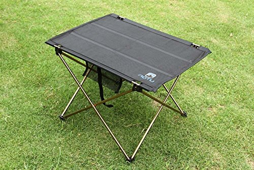 oldable Folding Table Desk Camping Outdoor Picnic Aluminium Alloy Ultra-light by SuperIndoor
