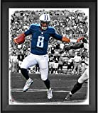 """Marcus Mariota Tennessee Titans Framed 20"""" x 24"""" In the Zone Photograph - NFL Player Plaques and Collages"""