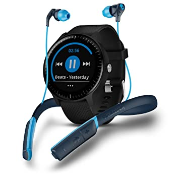 Garmin Vivoactive 3 Music Skullcandy Bundle - Smartwatch con GPS ...