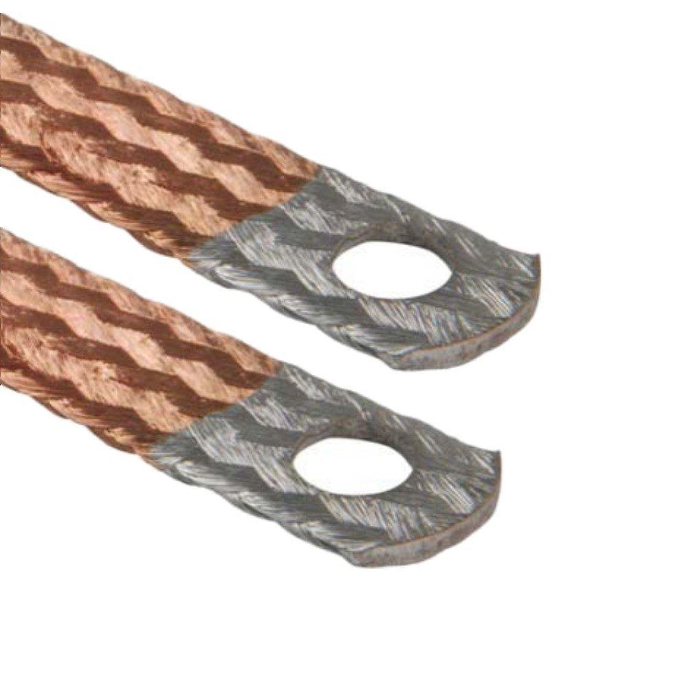 AUPROTEC® Motor Masa banda Extremos galvanizados) Cable de tierra 16mm²–70mm² Auprotec® AU-MBV