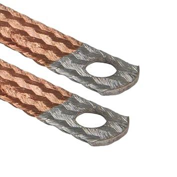 AUPROTEC® Motor Masa banda Extremos galvanizados) Cable de tierra 16 mm² - 70 mm²: Amazon.es: Electrónica