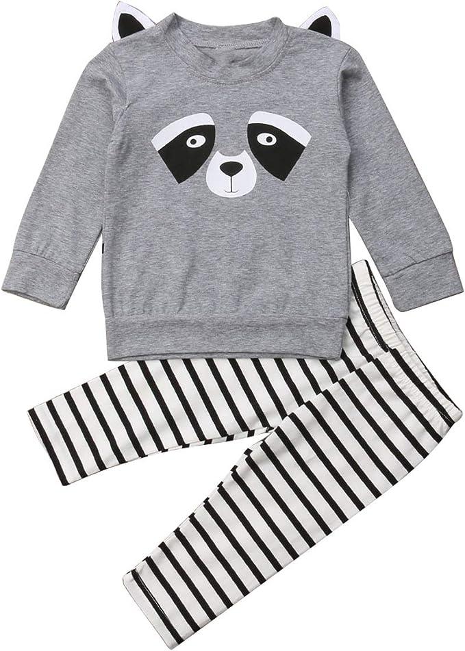 Puseky Camisa de Oso Animal Infantil de Dibujos Animados para ...