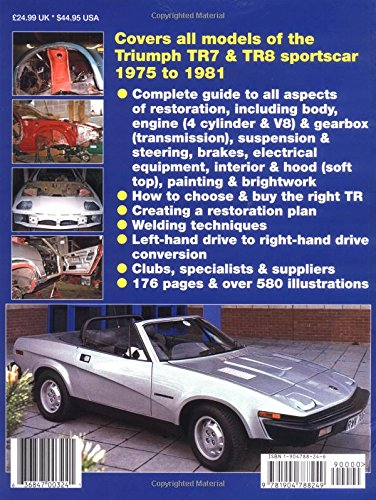 617mCY4QpiL how to restore triumph tr7 & 8 (enthusiast's restoration manual 1980 triumph tr7 wiring diagram at n-0.co