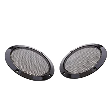 uxcell 6.5 inches Speaker Grill Mesh Decorative Circle Woofer Guard Protector Cover Audio Accessories