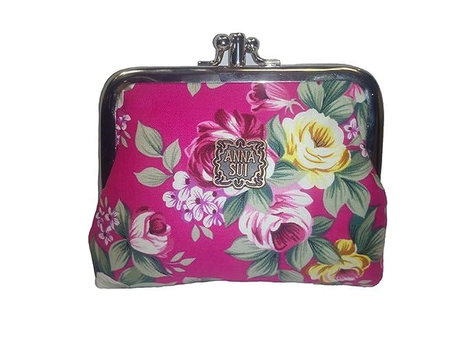 ANNA SUI - Cartera de mano para mujer rosa fucsia S: Amazon.es: Ropa y accesorios