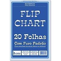 Papel Para Flip-Chart Serrilhado 75g. Tamoio