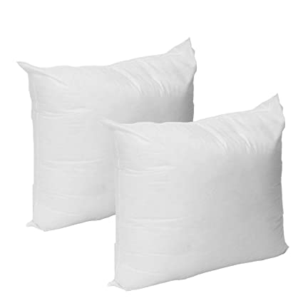 Amazon Set Of 4040 X 40 Premium Hypoallergenic Stuffer Pillow Enchanting 16 By 16 Pillow Insert