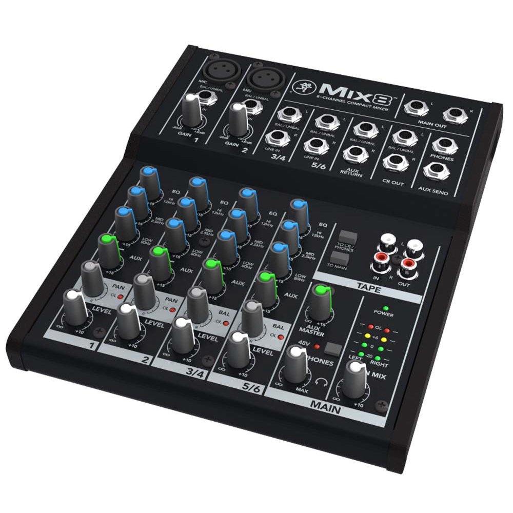 Mackie Mix Series Mix8 8-Channel Mixer by Mackie
