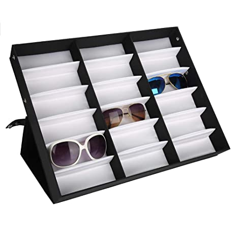 Semme Caja expositora para Gafas de Sol, 18 Ranuras para ...