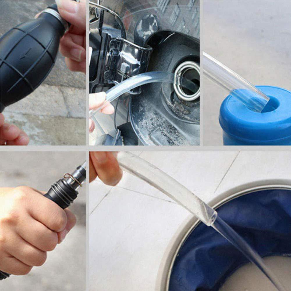 Oil Pump Pumping Oil Gas Durable Portable Hand Pump Dipstick Tube Air Pumps Siphon Transfer Pump Leaftree