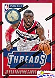 2014/15 Panini Threads NBA Basketball EXCLUSIVE Factory Sealed Retail Box with RC THREADS MEMORABILIA & 2 WOOD ROOKIES! Look for RC's & Autographs of Andrew Wiggins, Jabari Parker & all the Top Picks!