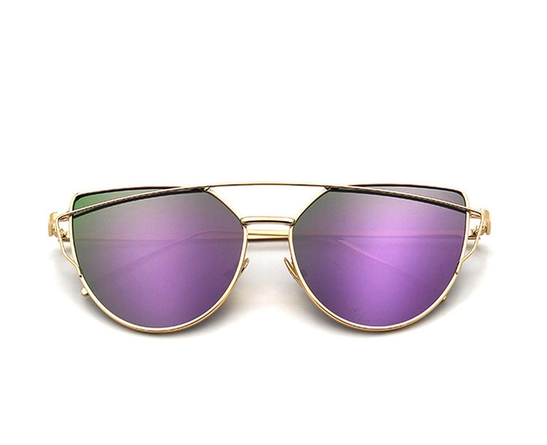 Amazon.com: Cat Eye vintage designer rose gold mirror ...